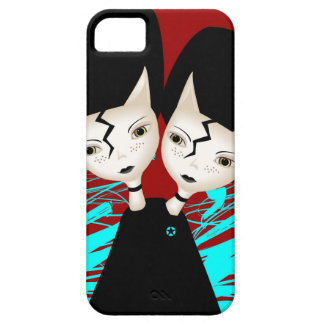 Twin Kittens iPhone 5 Covers