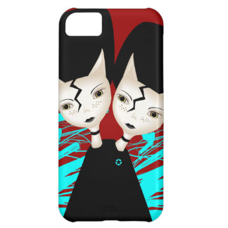 Twin Kittens iPhone 5C Case