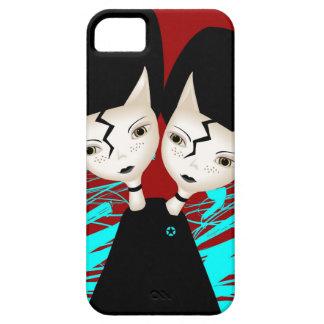 Twin Kittens iPhone SE/5/5s Case