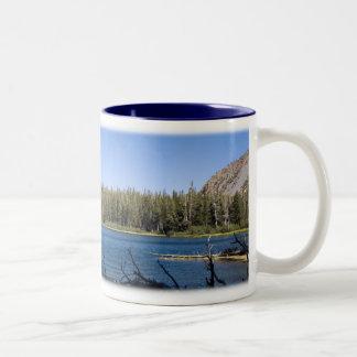 Twin Lakes, CA Two-Tone Coffee Mug