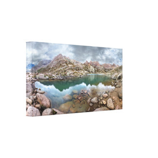 Twin Lakes - Chicago Basin - Colorado Canvas Print