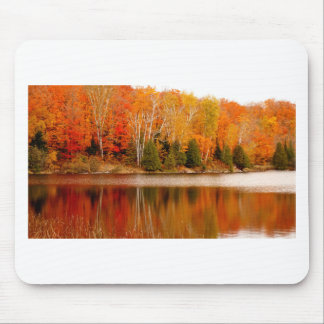 Twin Lakes Fall Colours, St Joseph Island Mouse Pad