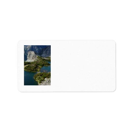 Twin Lakes Label