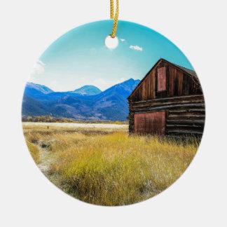 Twin Lakes, Leadville, Colorado Ceramic Ornament