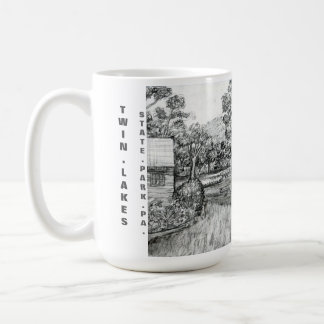 Twin Lakes State Park and Recreation Area Classic White Coffee Mug