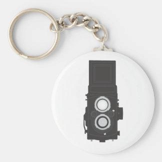Twin-Lens Reflex Camera (TLR) Keychain