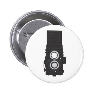 Twin-Lens Reflex Camera (TLR) Pinback Button
