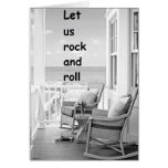 TWIN-LET US ROCK/ROLL ON YOUR BIRTHDAY CARDS