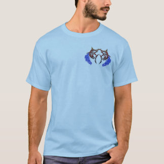 Twin Marlins Mens shirt design