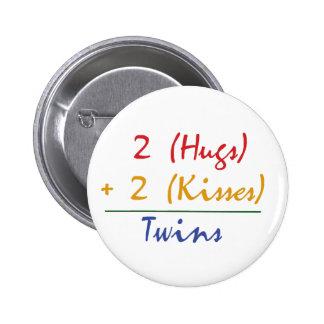 Twin Math Pins