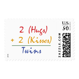 Twin Math Postage