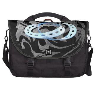 Twin Mobius Strips Laptop Bag