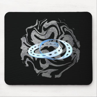 Twin Mobius Strips Mouse Pad