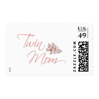 Twin Mom Butterflies Postage Stamps