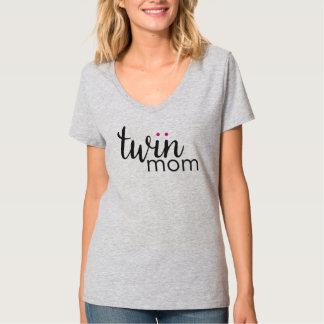 Twin Mom Girl Girl Twins Shirt