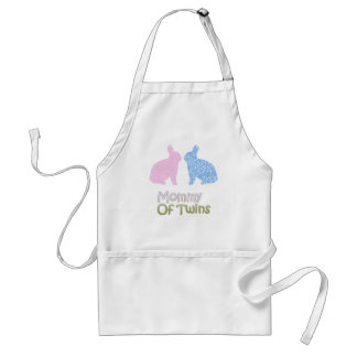 Twin Mommy Adult Apron