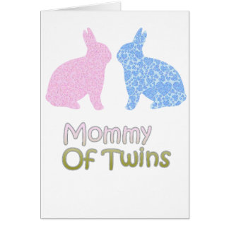 Twin Mommy Card