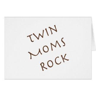 Twin Moms Rock Card