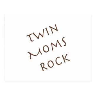 Twin Moms Rock Postcard