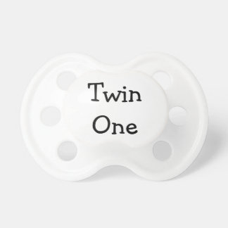 Twin One Pacifier