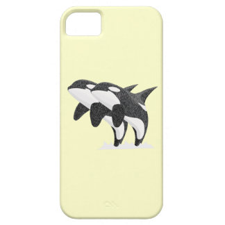 Twin Orcas iPhone SE/5/5s Case