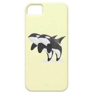 Twin Orcas iPhone SE/5/5s Case