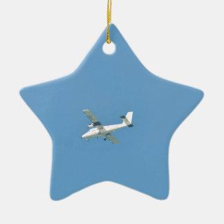 Twin Otter In Flight Ceramic Ornament