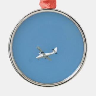 Twin Otter In Flight Metal Ornament