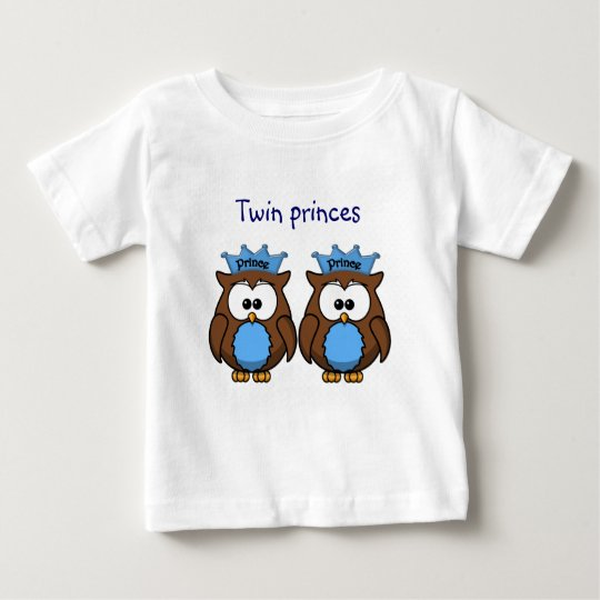 twin owl princes baby T-Shirt