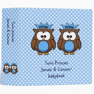 twin owl princes binder