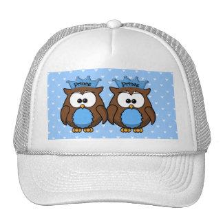 twin owl princes trucker hat
