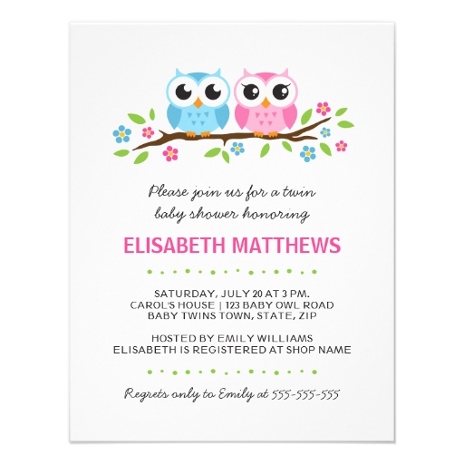 Twin Baby Shower Invitations as luxury invitations ideas