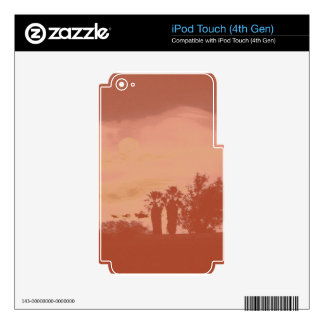 TWIN PALMS iPod TOUCH 4G SKIN