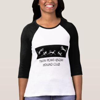 TWIN PEAKS IBIZAN HOUND CLUB LONG ... - Customized T-Shirt