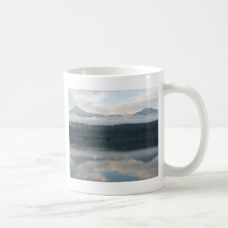 Twin Peaks near Bridge of The Gods Coffee Mug