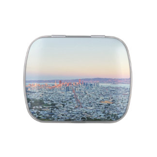 Twin Peaks San Fransisco Jelly Belly Candy Tin