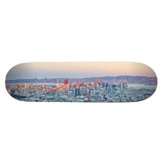 Twin Peaks San Fransisco Skateboard Deck