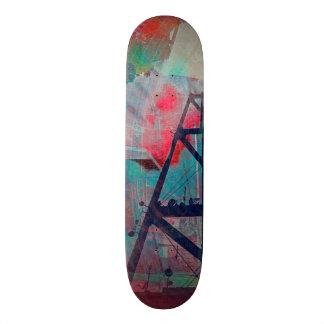 Twin Peaks Sutro Overload SanFrancisco Skateboard Deck