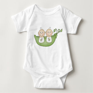 Twin Peas in a Pod Baby Bodysuit