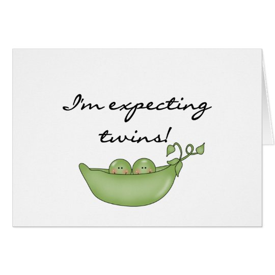 Twin Peas in a Pod Card