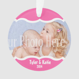 Twin Photo Keepsake Pink