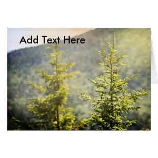 Twin Pines Card