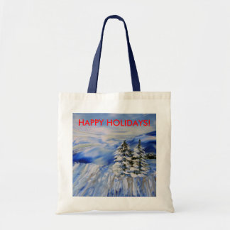 """""""TWIN PINES"""" tote/gift bag"""