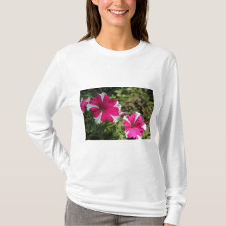Twin pink flowers T-Shirt