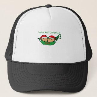 TWIN POD Christmas 2009 Trucker Hat