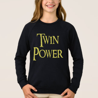 Twin power, kids, shirt, for sale ! sweatshirt