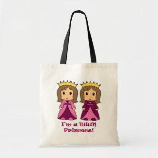 Twin Princesses Canvas Bags