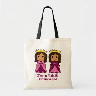 Twin Princesses Canvas Bag