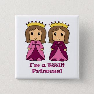Twin Princesses Button