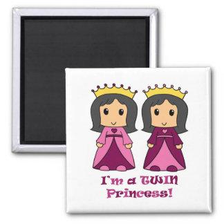 Twin Princesses Magnet